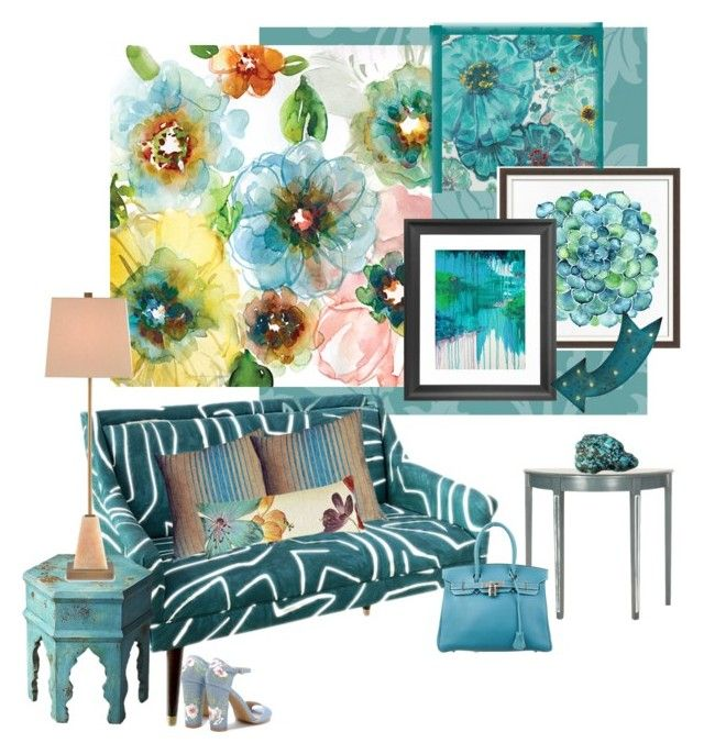 Gray And Teal Living Room By Jurzychic On Polyvore: 17 Best Ideas About Teal Sofa On Pinterest