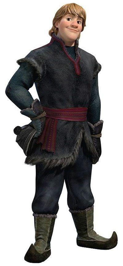 Disney Cosplay -- Frozen - Kristoff Cosplay Costume Version 01