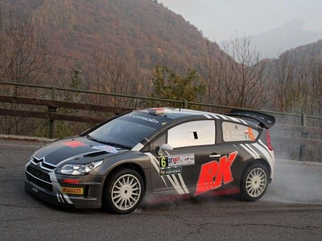 Robert Kubica vence el Rally di Como