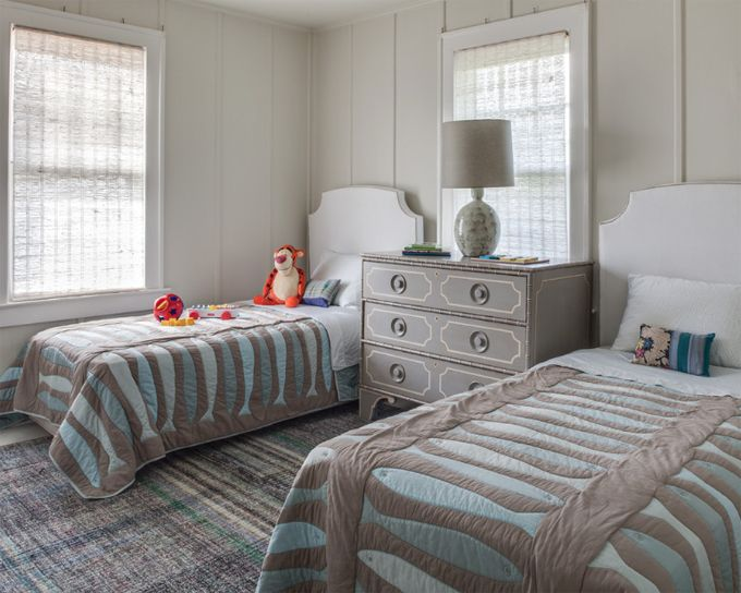 Twin Bedroom | Kati Curtis Design
