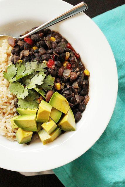 Recipe: Cuban Black Bean Stew Ingredients 1 cup uncooked brown...