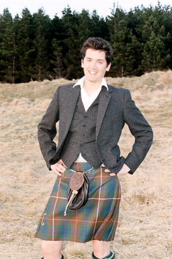 Simon Fraser, the current Lord Lovat, grandson of the famous WW2 leader Jamie's kin perhaps 5 generations back