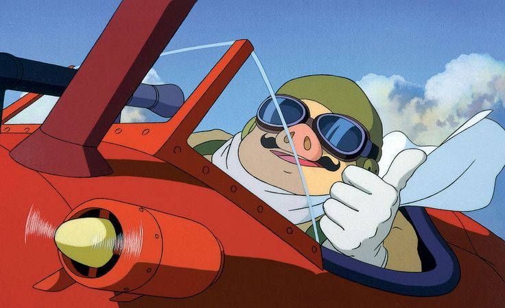 Marco Pagot, Porco Rosso - Best anime characters