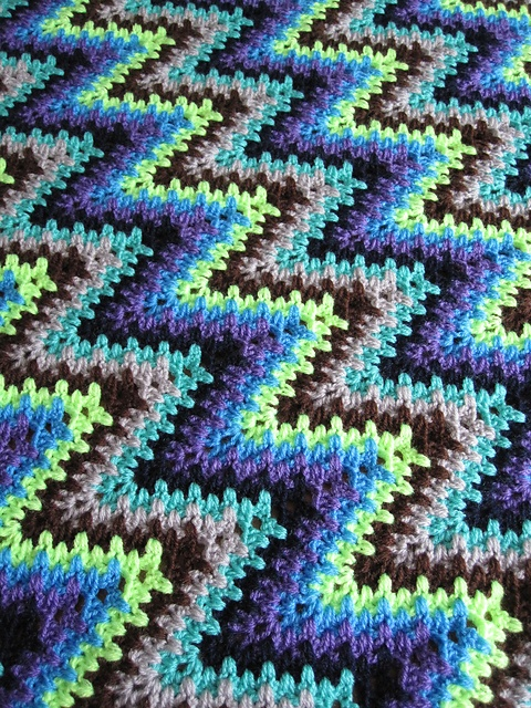 87 best images about CROCHET - LACY RIPPLE on Pinterest Chevron patterns, K...