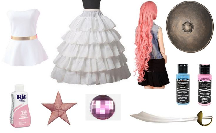 Rose Quartz costume from Steven Universe