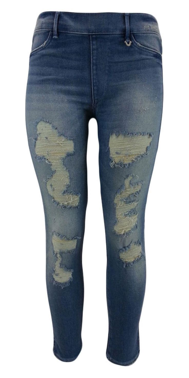 New True Religion Women's Leggings Runway Legging Jeans WC856XS61 DBWM Blue XXS