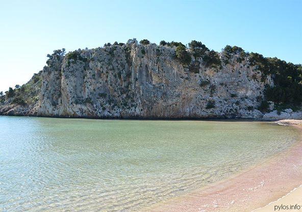 Voidokoilia beach Pylos, Messinia, Greece http://pylos.info