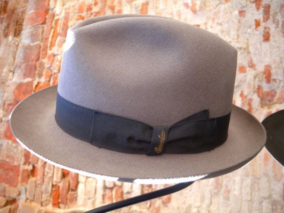 Borsalino Qualitá Superiore of 1980s. Check out this item in my Etsy shop https://www.etsy.com/listing/277048150/borsalino-qualita-superiore-vintage-hat
