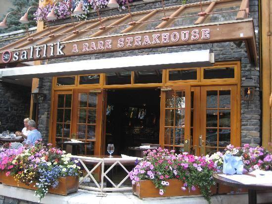 Saltlik Steakhouse - Banff