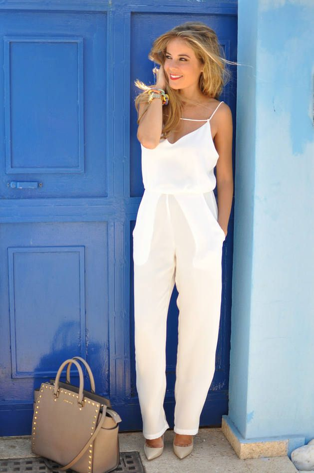 White Street Chic Jumpsuit