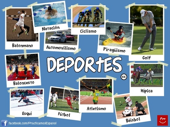 17 best images about los deportes on pinterest a collage