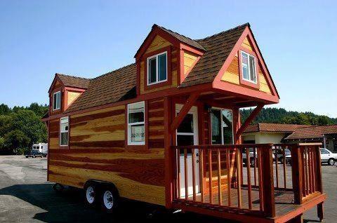Portable Cabin Cabin On Wheels Pinterest