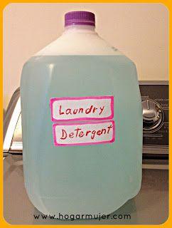 detergente liquido ropa