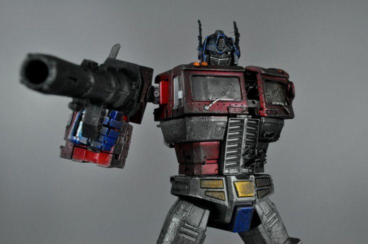 Details about 5CM Mini Transformers G1 Masterpiece Optimus ...