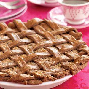 Maltese Torta tal-Marmurat (Almond, Chocolate, and Ricotta Pie)- IDC Malta