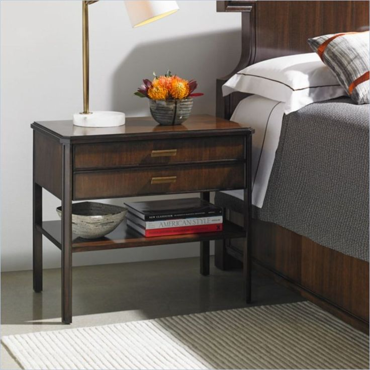 Crestaire Southridge Bedside Table in Porter