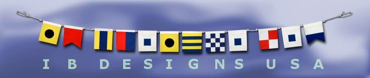 Create a custom banner with nautical symbols...perfect for your little boy's name!