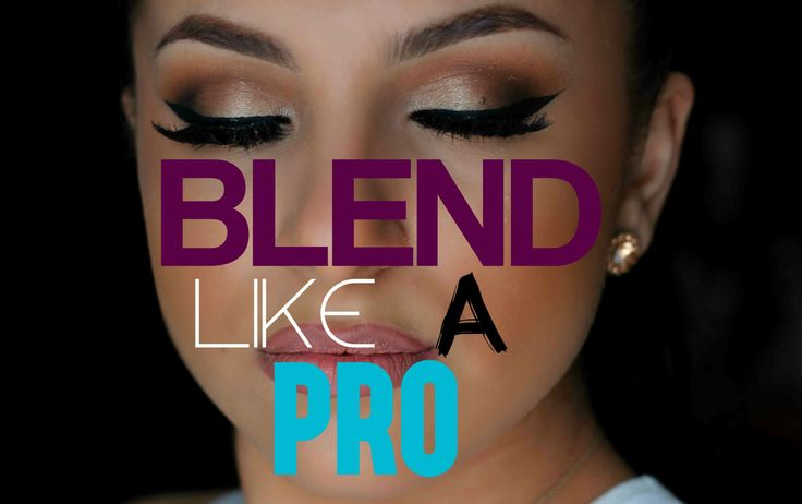 How To Blend Your Eyeshadow Like A PRO! IN DEPTH | Makeup By Leyla. SO glad I took the time to watch this!