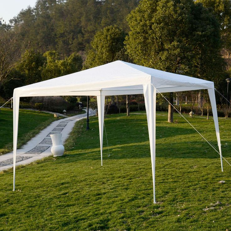 10'x10'Outdoor Canopy Party Wedding Tent Heavy duty Gazebo Pavilion Cater Events. $40.59