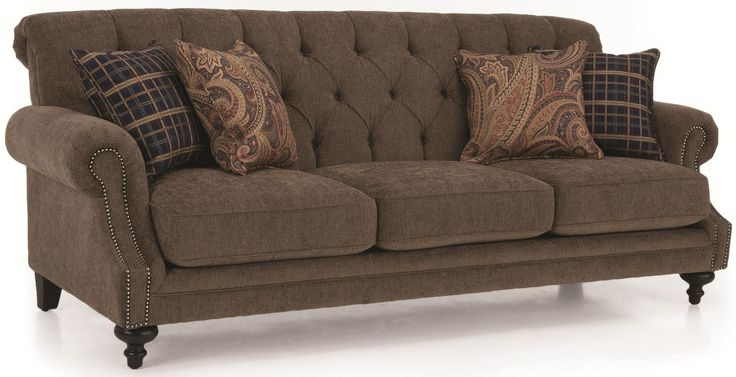 2133 traditional tufted back sofa with nailhead accents by - Cheap living room furniture toronto ...