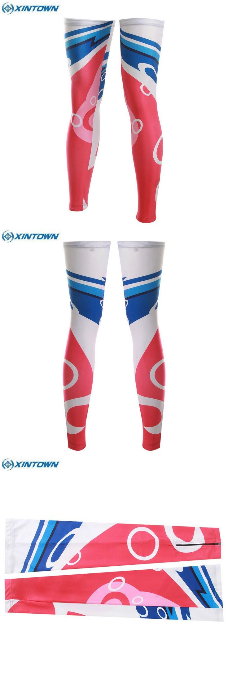 [Visit to Buy] XINTOWN Team Women Cycling Bike Bicycle Leg Warmer Guard Knee Running Sleeves Covers Ciclismo Windproof #Advertisement