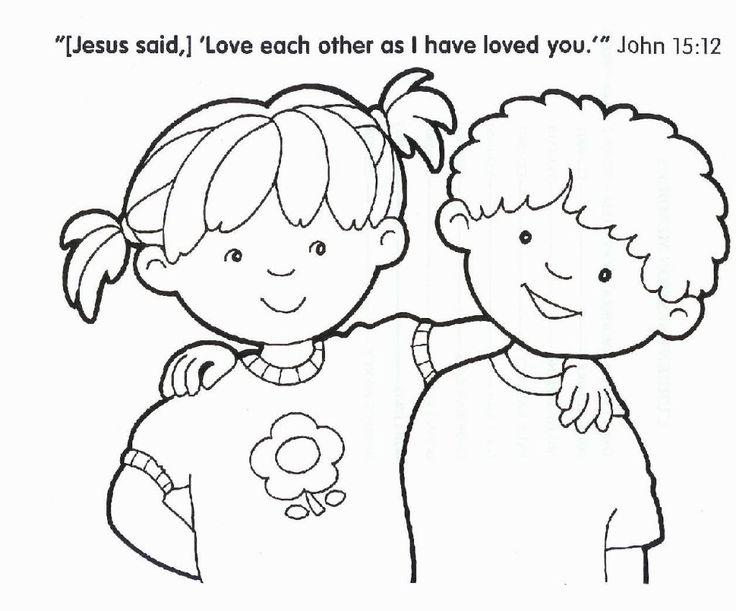 Free printable christian coloring pages kids best of religious for children glum