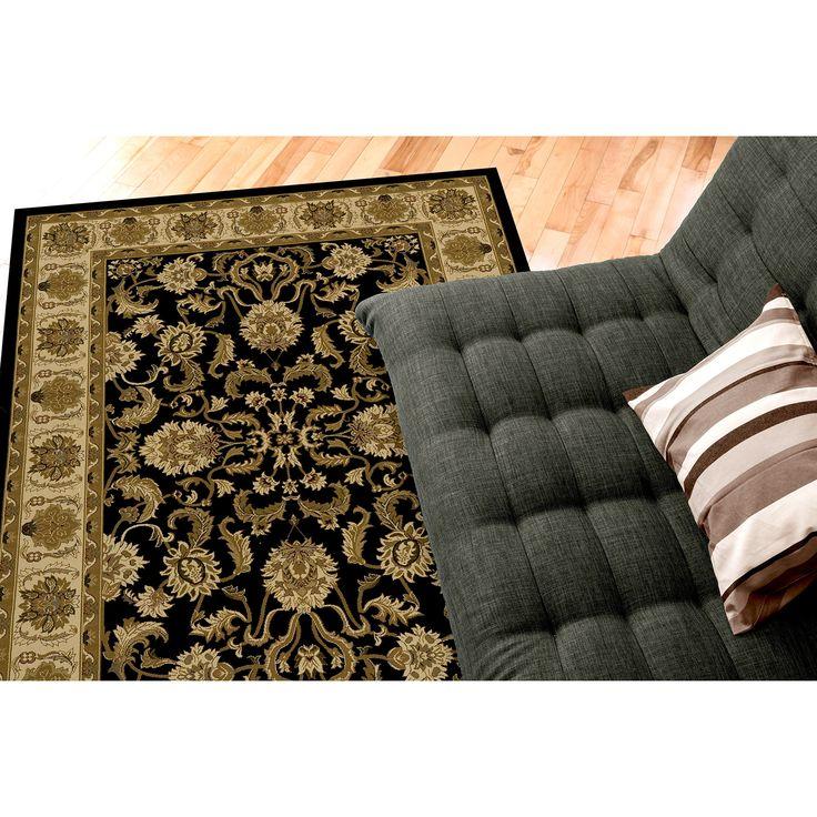 Saville Kelati 5 ft. x 7 ft. Polypropylene Rug - Black