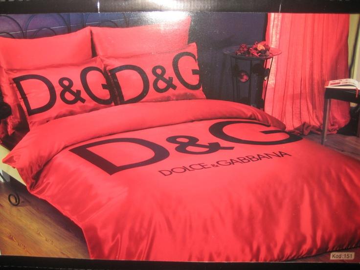 King Size Bettwäsche Günstig : Dolce and gabbana bed bath beyond red