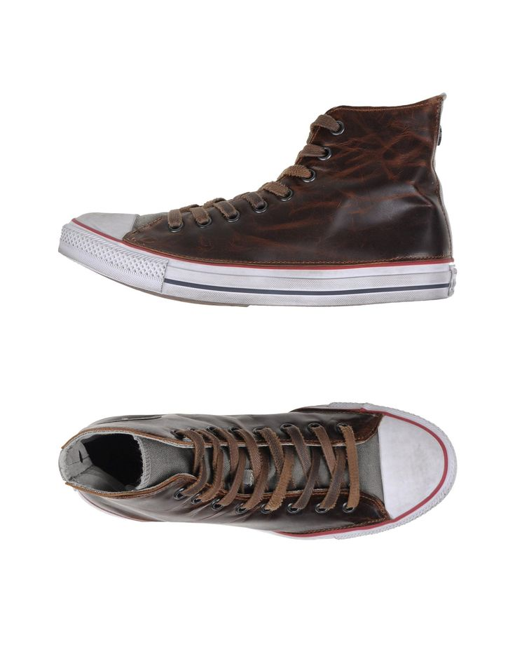 ALL STAR HI CANVAS/LEATHER LTD Moka Homme Chaussures Sneakers [11095443CT] - €129.35 : Converse Chaussure, Converse Homme