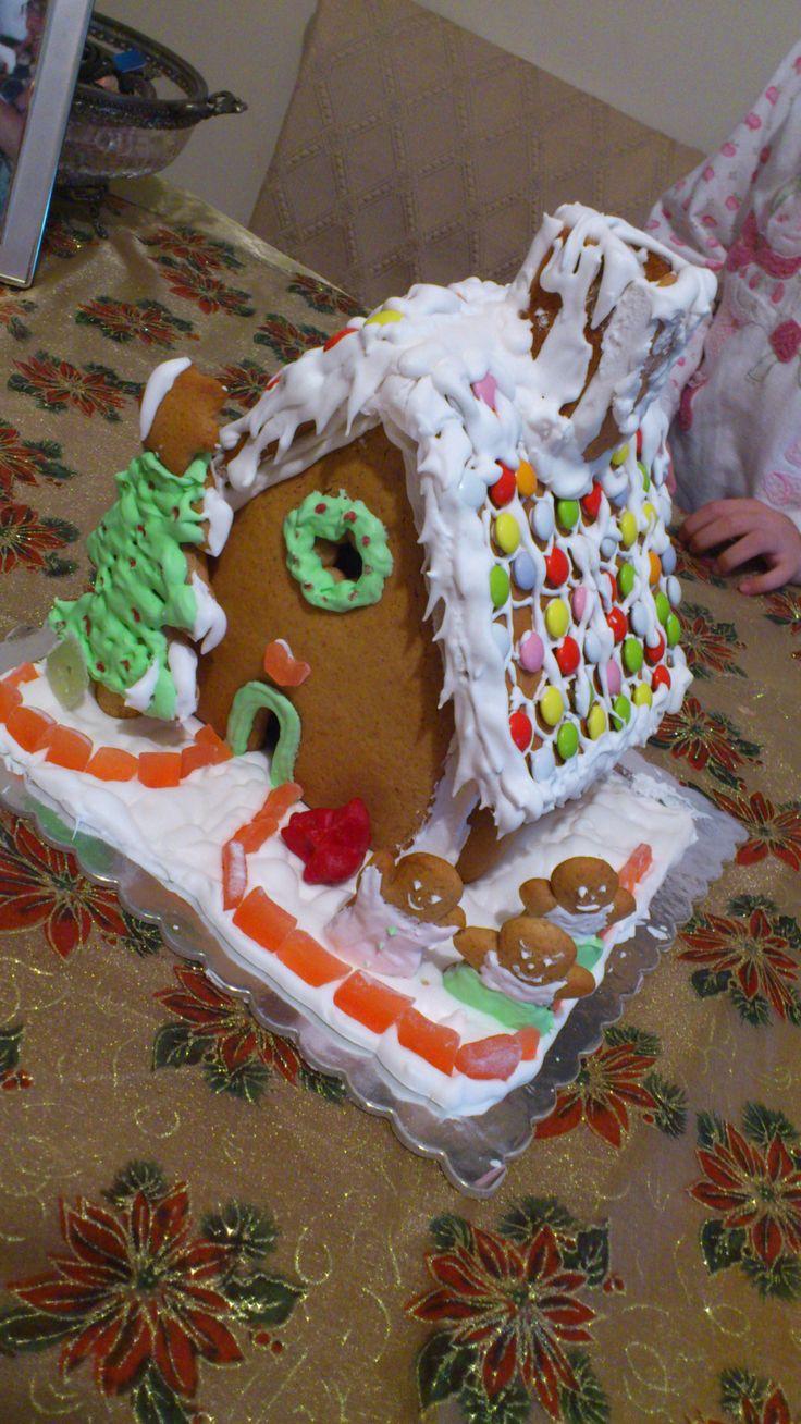 σπιτακι απο gingerbread