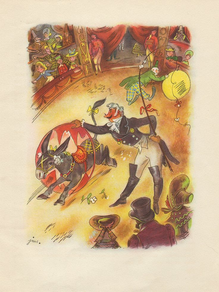 """""""Pinocchio - The Adventures Of A Little Wooden Boy"""" written by C. Collodi. Illustration by J. M. Szancer"""