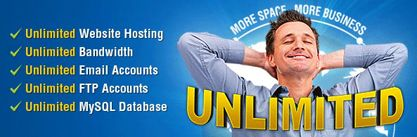 Web Hosting with unlimited space and bandwidth