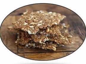 Optima Alimentación: Crakers Veganos  Ingredientes  Elegir 3 tipos de semillas  y ponerlas en remojo algunas horas.  En mi caso he elegido:   ½ taza de lino 1 taza de semillas de girasol 1 taza de semillas de calabaza 1 cuchara de semillas de sésamo negro (para dar contraste de color)