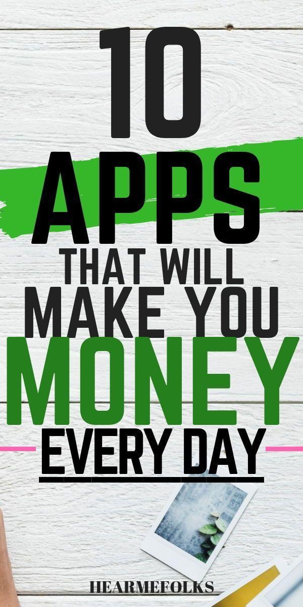 10 erstaunliche Apps, mit denen Sie echtes Geld verdienen können – bis zu 10.00… – Finde ein Hobby