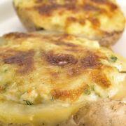 Frittata met aardappel, knolselderij en katenspek
