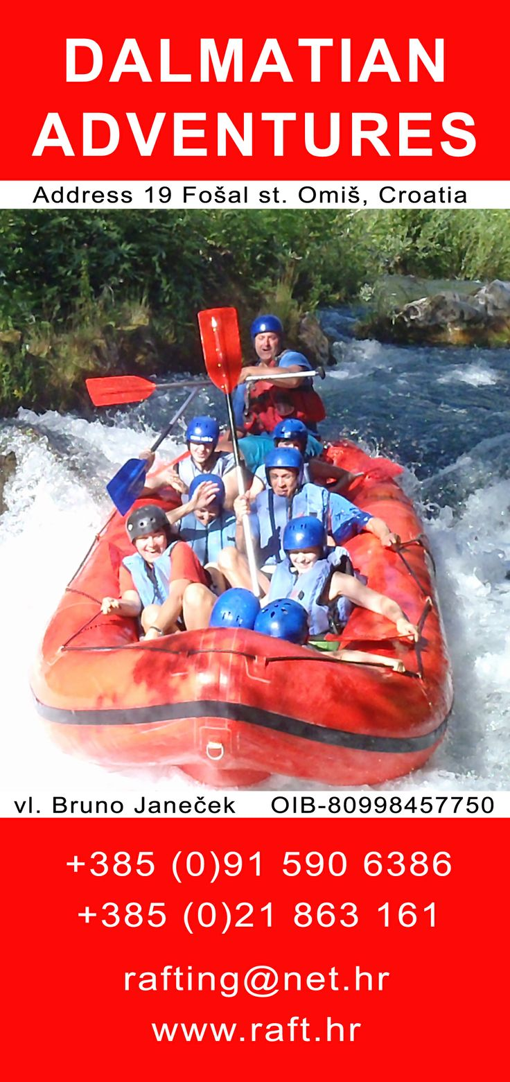 Don t travel read only one page st augustine rovinj croatia - Travel Agency Dalmatian Adventures Organizes Rafting Trips On The River Cetina In Croatia Everyday At 9am