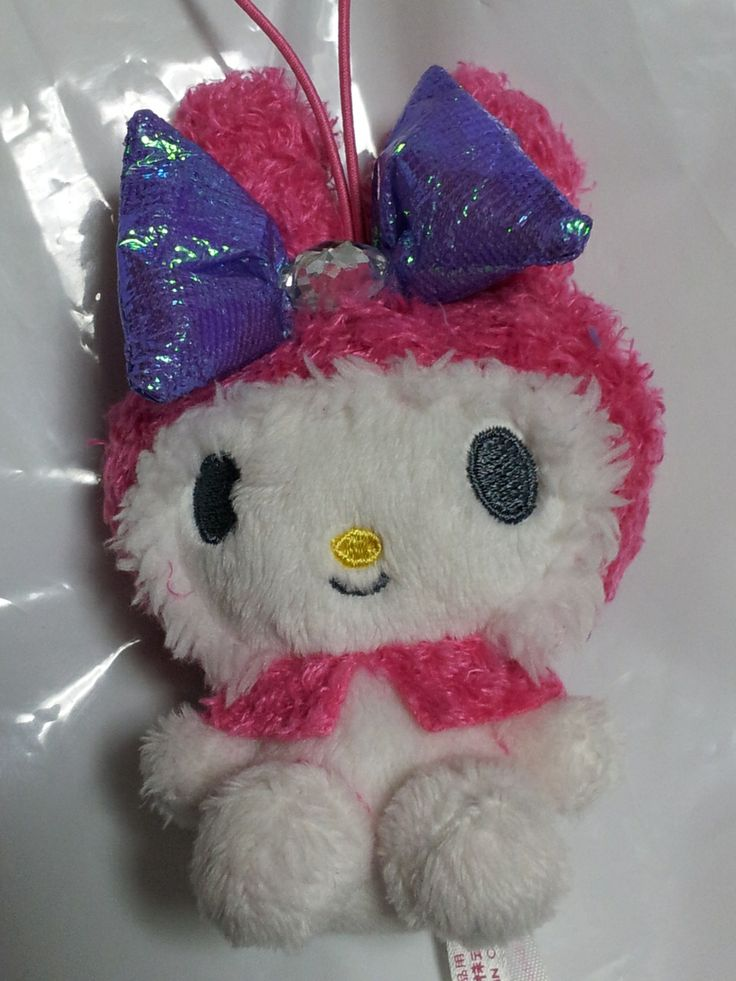 JPLand Stuff - Sanrio - My Melody Aurora Ribbon Plush Strap (Pink), $9.99 (http://www.jplandstuff.com/sanrio-my-melody-aurora-ribbon-plush-strap-pink/)