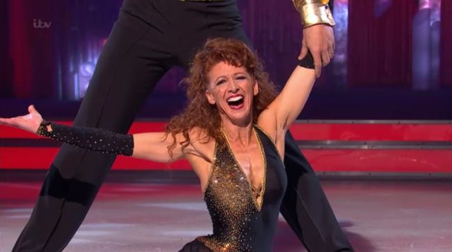 Bonnie Langford was the next to leave the show