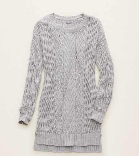 Aerie Cable Knit Tunic Sweater.  Our fave for cozier days. #Aerie