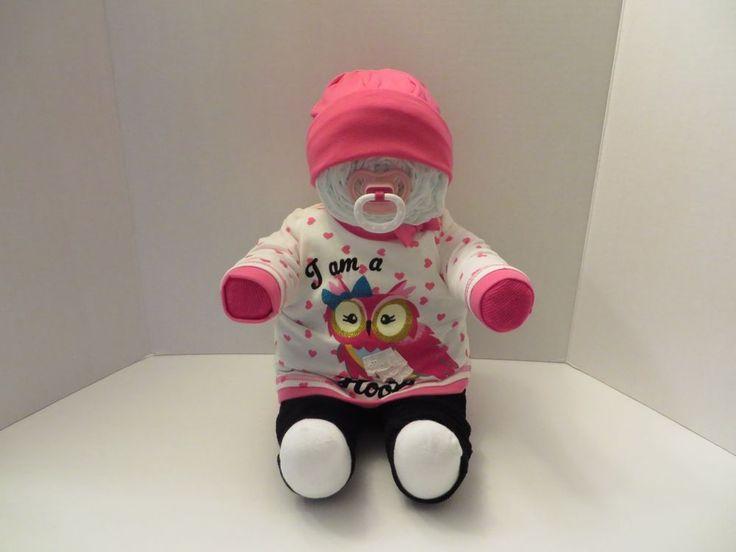 Sitting Diaper Baby Cake Baby Shower Gift 9150 | eBay