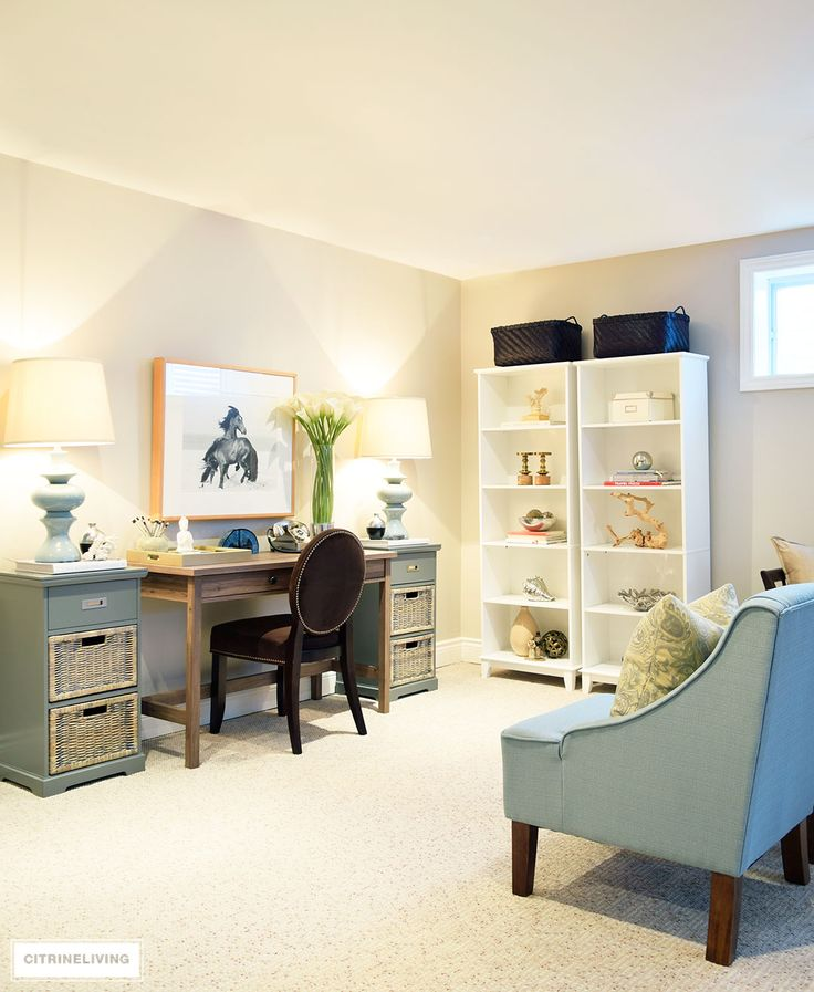 Cool Things To Put In A Basement: 17 Best Ideas About Basement Home Office On Pinterest