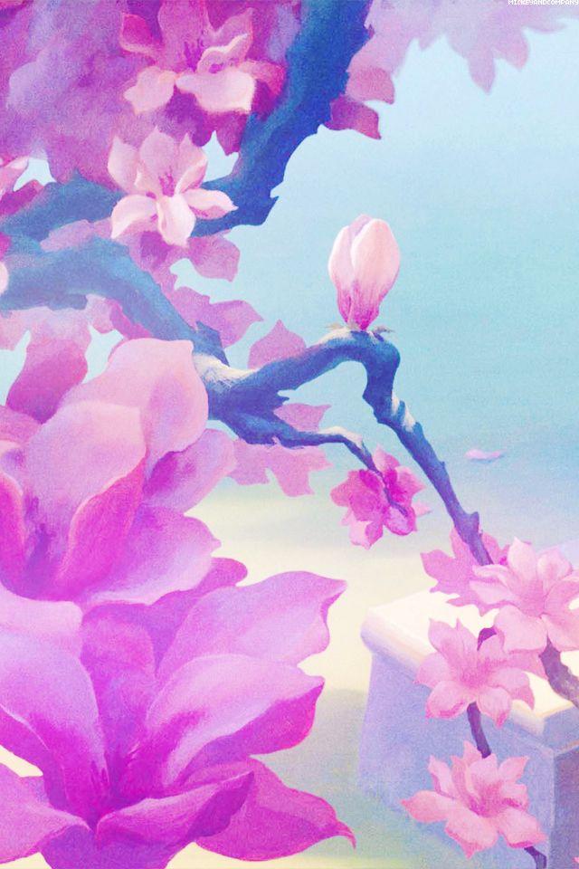 Mulan - flower - disney wallpaper | WALLPAPERS | Pinterest | Disney wallpaper, Disney and Wallpaper