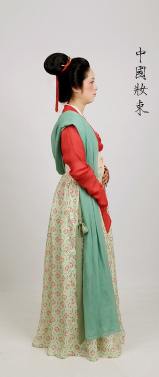 outfit for royal maids in the Song dynasty