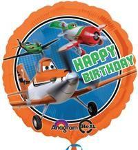Disney Planes, Folyo Balon Uçan balon, balon buketi için www.partipaketi.com