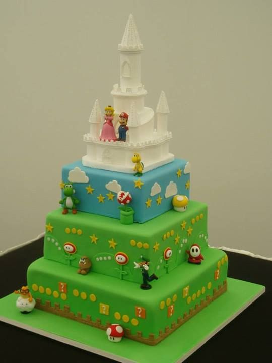 mario bros wedding cake mario wedding cake wedding cakes amp bridal shower 17142