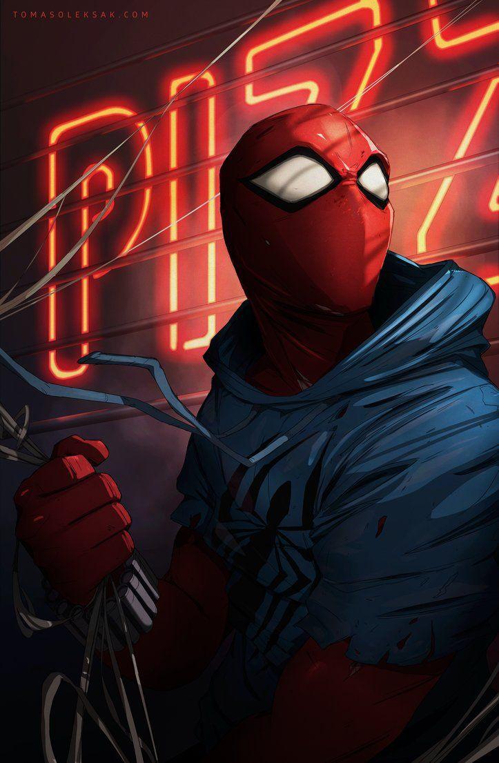 Scarlet Spider by tomasoleksak.deviantart.com on @DeviantArt