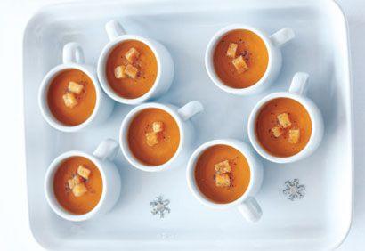minisoupes carottes tomates