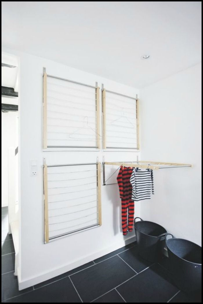 DIY Wall Mounted Drying Rack! Do you need this at home?