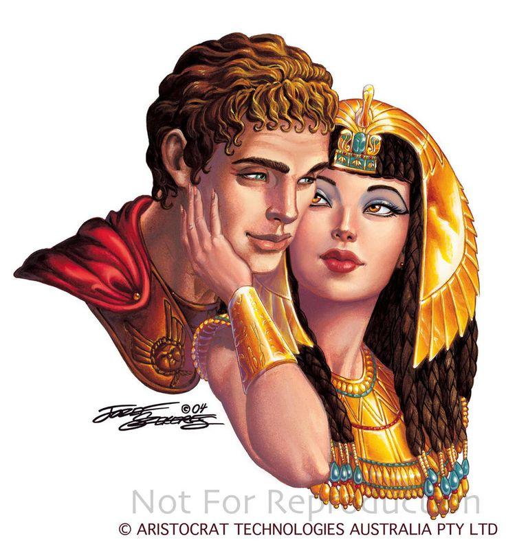 Mark Antony and Cleopatra | Antony and Cleopatra .Szekeres by Elf-Fin on deviantART