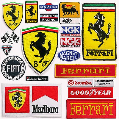 Ferrari #horse emblem cars & #racing team + sponsors iron-on #patch collection,  View more on the LINK: http://www.zeppy.io/product/gb/2/130898912126/